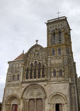 Basilique  of St. Mary Magdalene in Vezelay Abbey. Burgundy, France Stock Photo