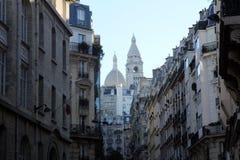 Basilique van Sacre Coeur, Parijs Stock Foto