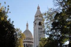 Basilique van Sacre Coeur, Parijs Royalty-vrije Stock Foto's