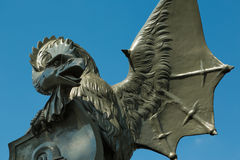 A Basilisk statue in Basel, Switzerland Stock Photos