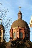 Basillica dome Royalty Free Stock Photos