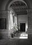 Basillica-Eintritt in den Pula, Kroatien Lizenzfreie Stockfotografie