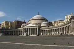 Basillica San Francesco di Paola Royalty Free Stock Images