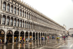 Basillica on San Marco Square in Venice, Italy Stock Photos