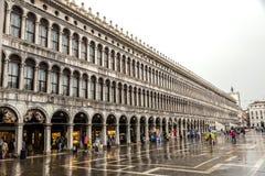 Basillica sur San Marco Square à Venise, Italie Photos stock