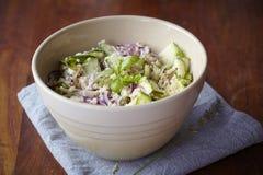 basilu courgette quinoa sałatka Zdjęcie Stock