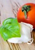 basilu czosnku pomidor Zdjęcie Royalty Free