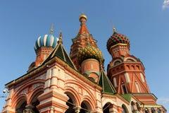 basilu katedralny Moscow święty Zdjęcie Royalty Free