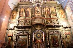 basilu katedralny Moscow święty Obrazy Royalty Free