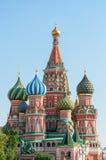 basilu katedralny Moscow plac czerwony st Fotografia Stock