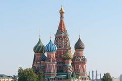 basilu katedralny Moscow plac czerwony st Fotografia Royalty Free