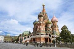 basilu katedralny Moscow s st Fotografia Stock