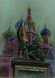 basilu katedry święty obrazy stock
