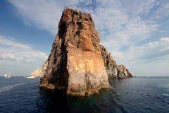 Basiluzzo, Aeolian Islands Stock Image