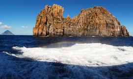 Basiluzzo wyspa Obraz Royalty Free