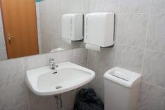 Basin. Washing basin in a bathroom royalty free stock photo