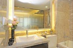 Basin in the bathroom Royalty Free Stock Photos