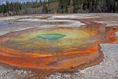 basin beauty geyser pool upper Стоковые Фото
