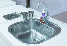 Basin in dental clinic Stock Images