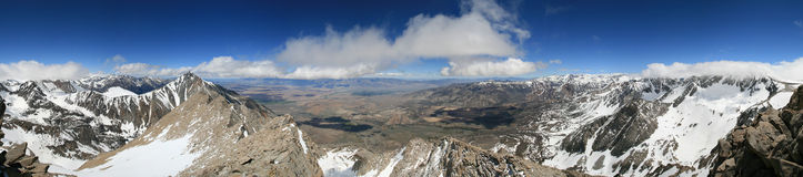 Basin Mountain panorama Royalty Free Stock Photography