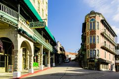 Free Basin Park Hotel And Flatiron Building On The Winding Streets Of Historic Downtown Eureka Springs, Arkansas Royalty Free Stock Photography - 127542687