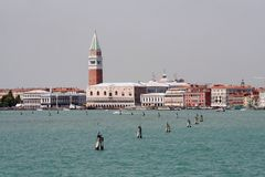 Basin of San Marco. A View of Venice - Italy stock photos