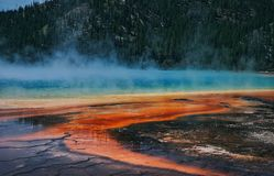 Basin in yellowstone Stock Images