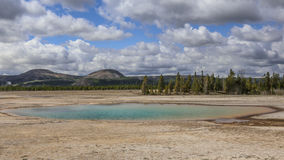 Basin in Yellowstone Stock Photo