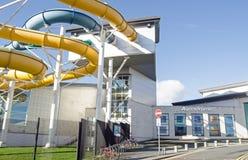 Basingstoke Aquadrome Stockfoto