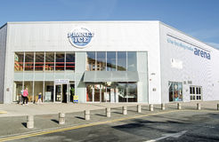 Basingstoke-Arena-Eisbahn Stockfoto