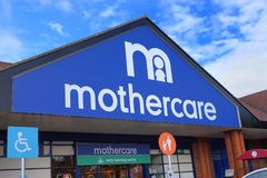 Basingstoke, Hampshire, R-U - 17 octobre 2016 : Stockez l'avant de la boutique de Mothercare dans le parc Basingstoke de Kempshot Photos libres de droits
