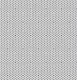 Basis elliptische die vormen op kubusvormen in kaart worden gebracht, in zwart-wit worden vermenigvuldigd Royalty-vrije Stock Afbeeldingen