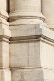 Basis van een pijler in Rome Royalty-vrije Stock Afbeeldingen