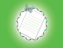Basisrecheneinheit auf einem grünen Hintergrund Lizenzfreie Abbildung