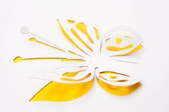 Basisrecheneinheit origami Lizenzfreie Stockfotos