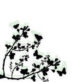 Basisrecheneinheiten und Blumen Lizenzfreies Stockfoto