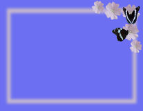 Basisrecheneinheiten und Blumen Lizenzfreie Stockfotos