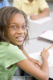 Basisschoolleerling stock afbeelding