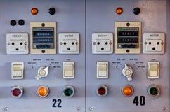 Basissteuerpult Stockbilder