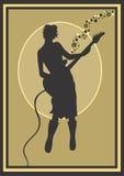 basista Royalty Ilustracja