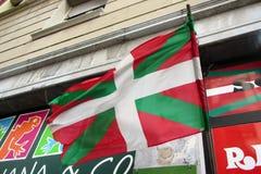Bask flaga obraz stock