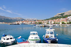 Baska, île de Krk, Croatie photos libres de droits