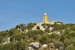 Baska Church Sveti Jurje, Croatia Stock Photos