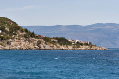Baska coastline, Croatia Royalty Free Stock Photography