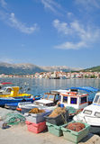 Baska, console de Krk, Croatia fotos de stock