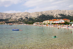 Baska on Island Krk Stock Photo