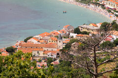 Baska on Island Krk Royalty Free Stock Photography