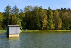 Baska jezioro Zdjęcie Royalty Free