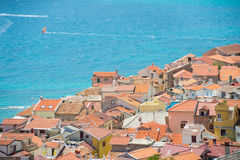 Baska, Krk, Croatia, Europe. Royalty Free Stock Photos