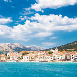 Baska, Krk, Croatia, Europe. Stock Photography